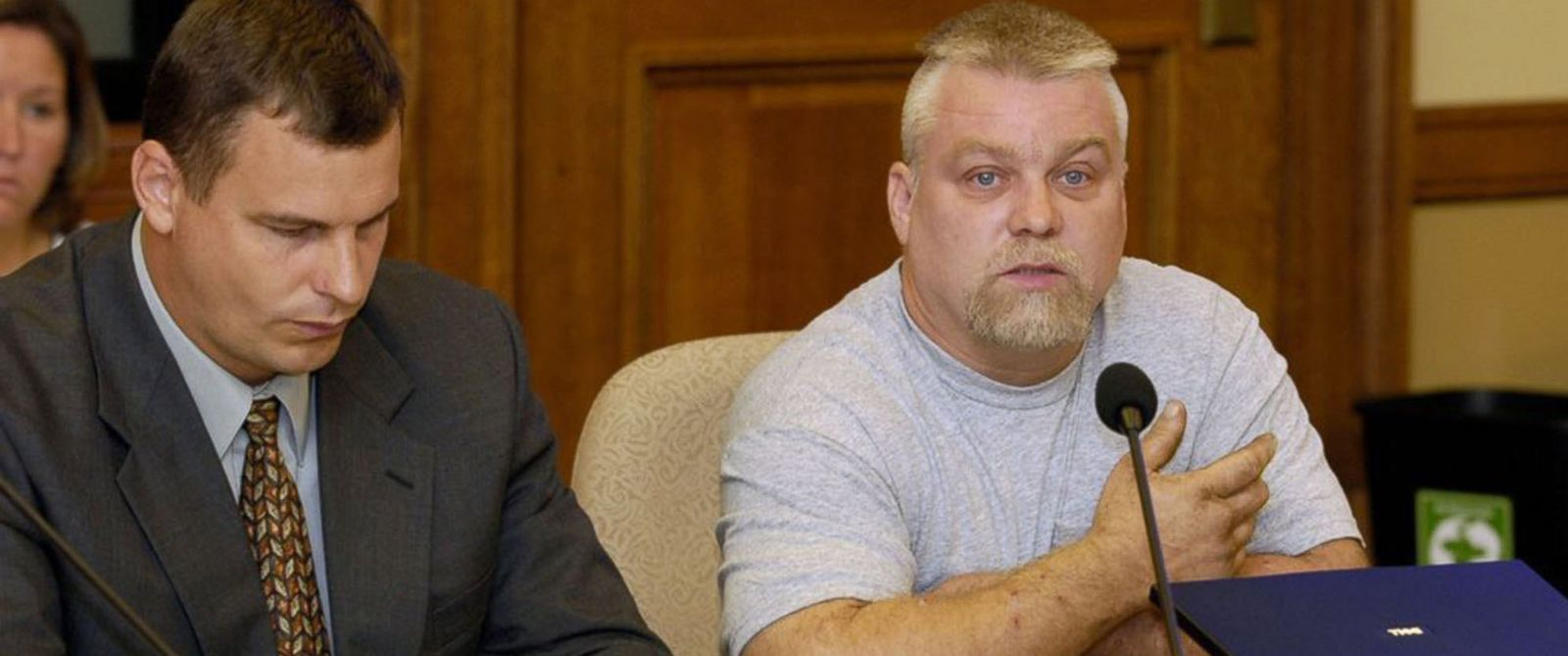 """PHOTO: This image released by Netflix shows Steven Avery, right, in the Netflix original documentary series """"Making A Murderer."""""""