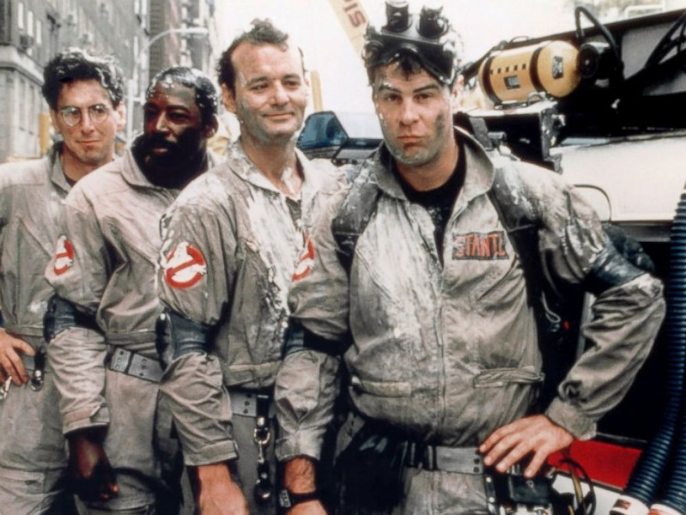 PHOTO: Cast of the movie Ghostbusters, 1984.
