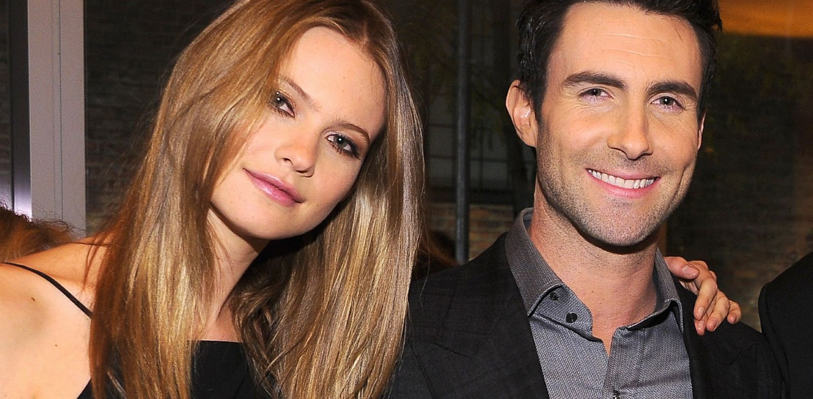 PHOTO: Adam Levine and Behati Prinsloo