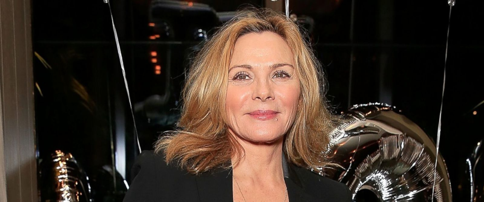 PHOTO: Actress Kim Cattrall at a party for Spectator Life magazine at the Belgraves Hotel in London on Mar. 31, 2015.