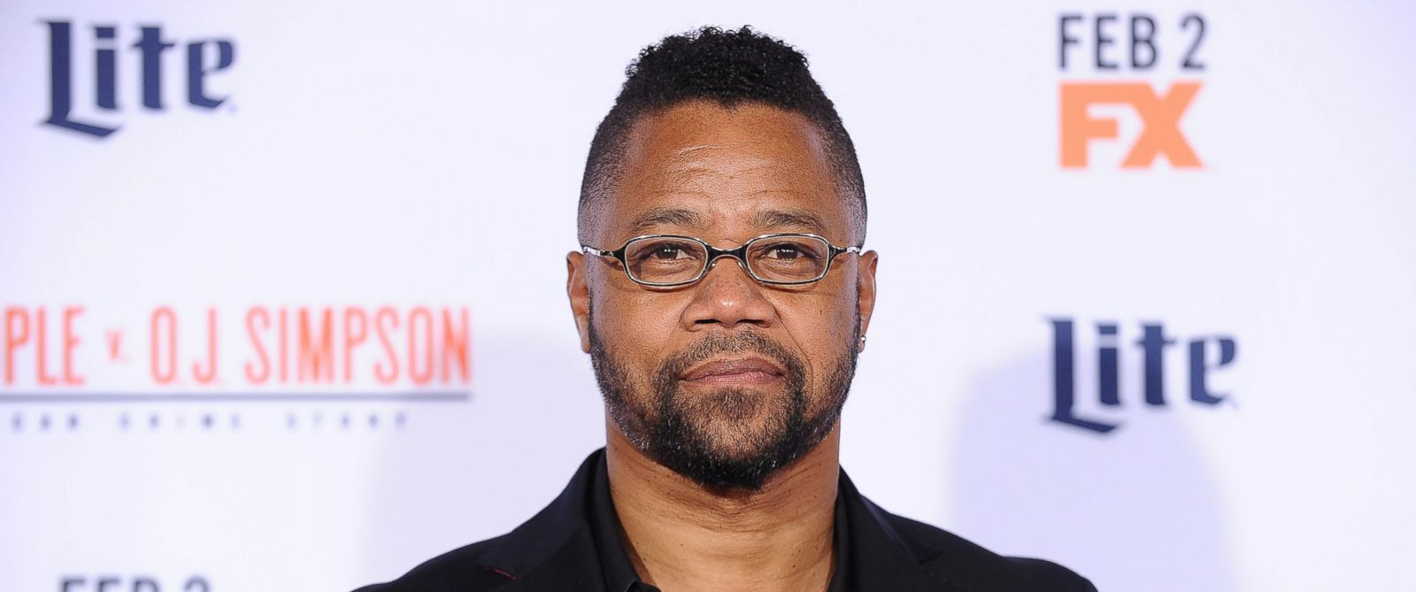 """PHOTO: Cuba Gooding, Jr. attends the premiere of """"American Crime Story - The People V. O.J. Simpson"""" on Jan. 27, 2016 in Westwood, Calif."""