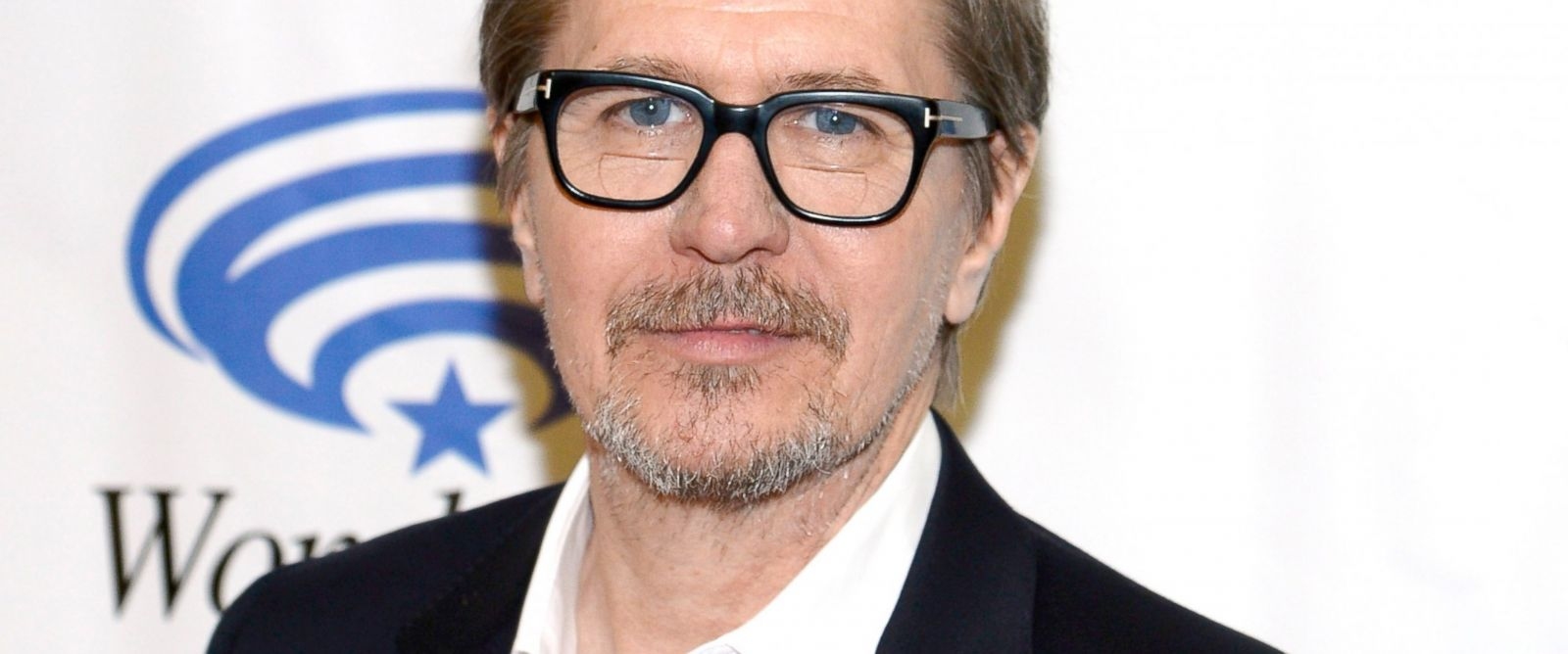 "PHOTO: Actor Gary Oldman attends the ""Dawn of the Planet of the Apes"" during 20th Century Fox press line at WonderCon Anaheim 2014 at the Anaheim Convention Center in this April 19, 2014, file photo in Anaheim, Calif."