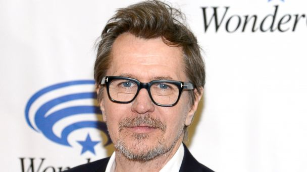 """PHOTO: Actor Gary Oldman attends the """"Dawn of the Planet of the Apes"""" during 20th Century Fox press line at WonderCon Anaheim 2014 at the Anaheim Convention Center in this April 19, 2014, file photo in Anaheim, Calif."""