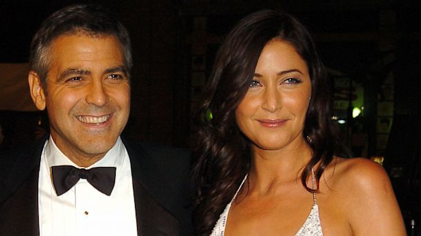 "PHOTO: George Clooney and Lisa Snowdon at the ""Oceans Twelve"" Los Angeles Premiere on Dec. 8, 2004."