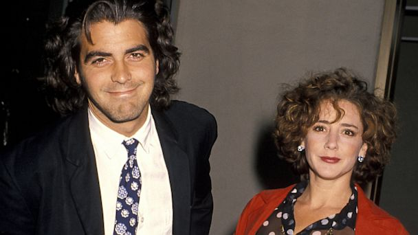 PHOTO:George Clooney and Talia Balsam at the Century Plaza Hotel in Century City, Calif., June 14, 1990.