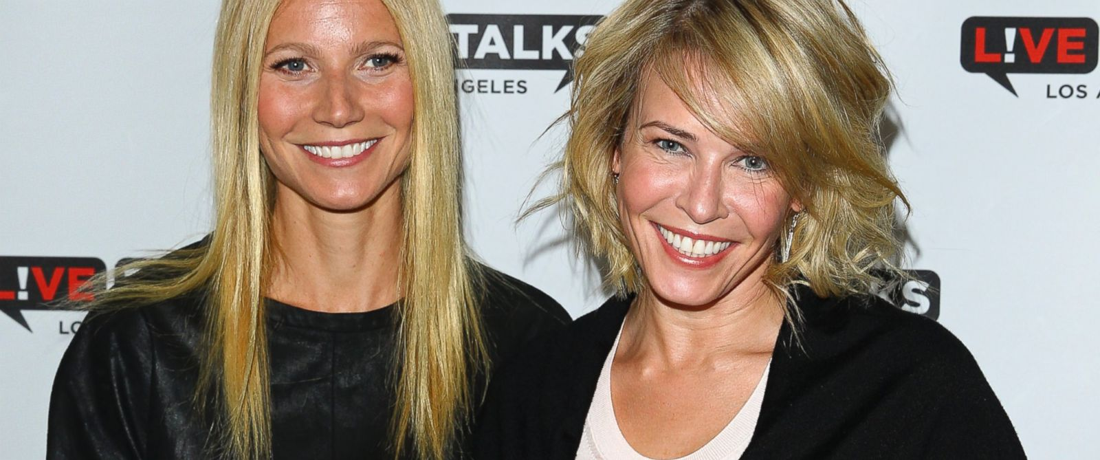 PHOTO: Gwyneth Paltrow and Chelsea Handler attend An Evening With Chelsea Handler In Conversation with Gwyneth Paltrow at Alex Theatre, March 11, 2014, in Glendale, Calif.