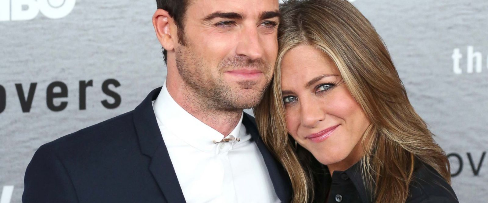 "PHOTO: Justin Theroux and Jennifer Aniston attend ""The Leftovers"" premiere at NYU Skirball Center on June 23, 2014 in New York City."