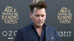 Johnny Depp Strikes a Pose at Premiere