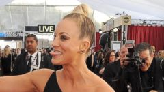 Kaley Cuoco Leaves Little to the Imagination in Black Dress
