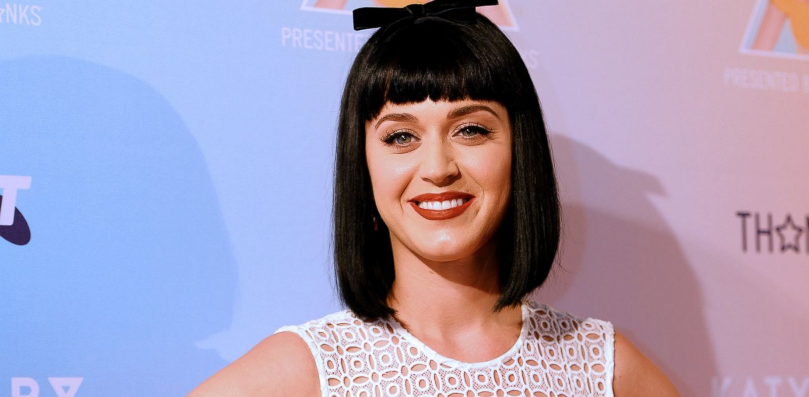 PHOTO: American singer Katy Perry poses for photos at the launch of her Prismatic world tour in Sydney On March 4, 2014.