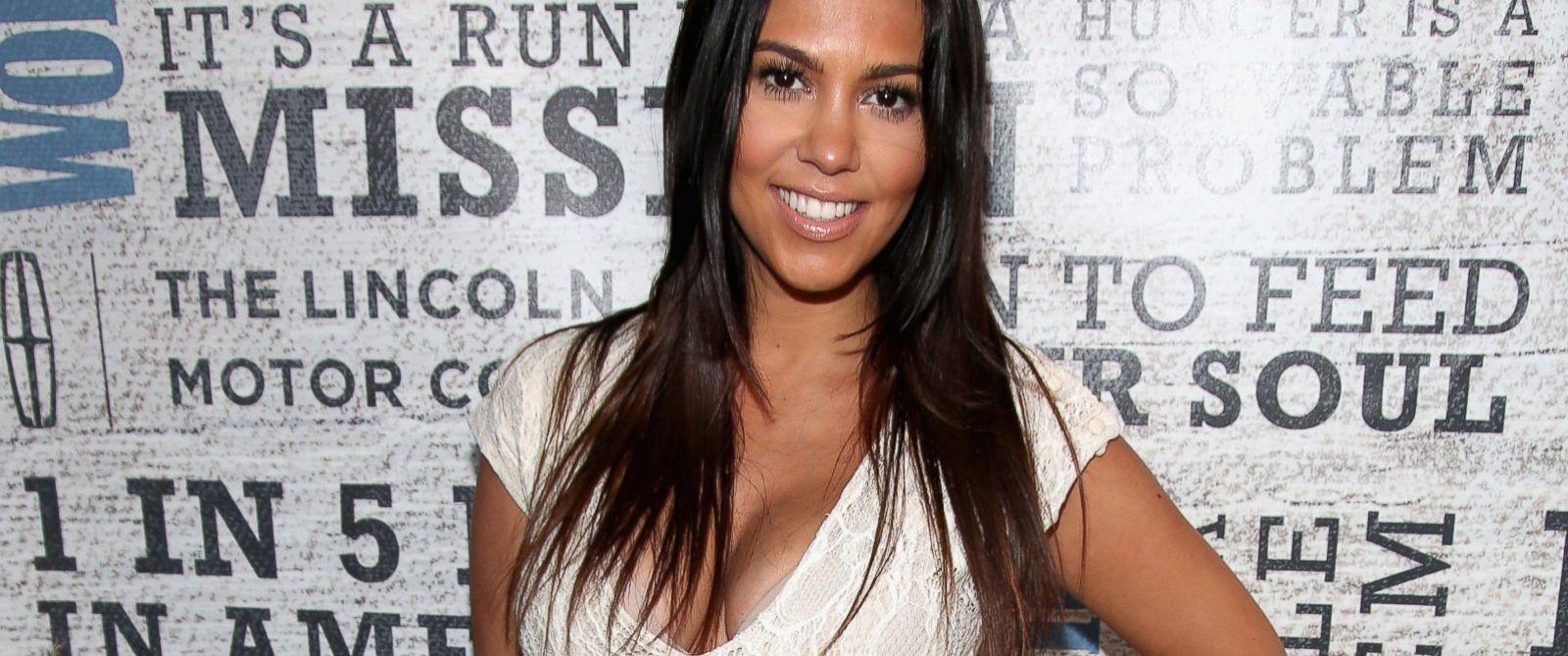 "PHOTO: TV Personality Kourtney Kardashian attends Womens Health Hosts Hamptons ""Party Under The Stars"" for RUN10 FEED10 at Bridgehampton Tennis and Surf Club, Aug. 9, 2014, in Bridgehampton, N.Y."