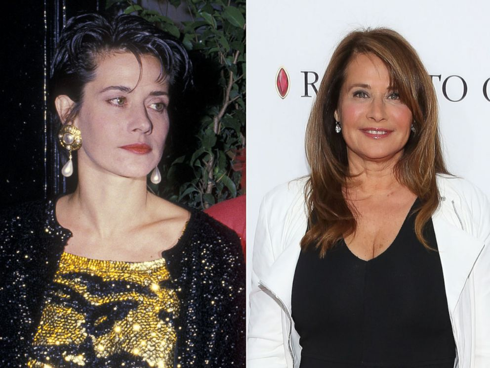 'PHOTO: Lorraine Bracco is seen, Oct. 5, 1988, at the 16th Regiment Armory in New York. Right, Lorraine Bracco attends the closing night screening of Goodfellas during the 2015 Tribeca Film Festival at Beacon Theatre, April 25, 2015, in New York.' from the web at 'http://a.abcnews.go.com/images/Entertainment/GTY_Lorraine_Bracco3_ml_150917_4x3_992.jpg'