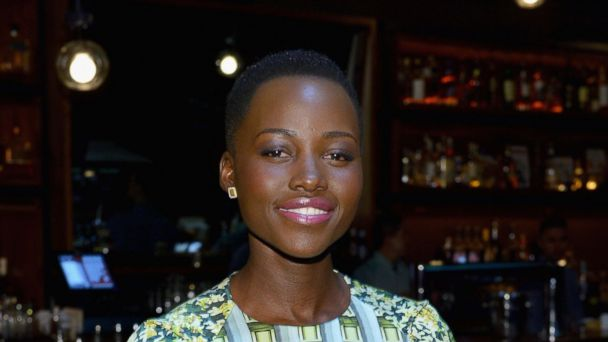 PHOTO: Actress Lupita Nyongo attends the Dujour Magazine Winter 2013-2014 Cover Star in New York City on Feb, 19, 2014.