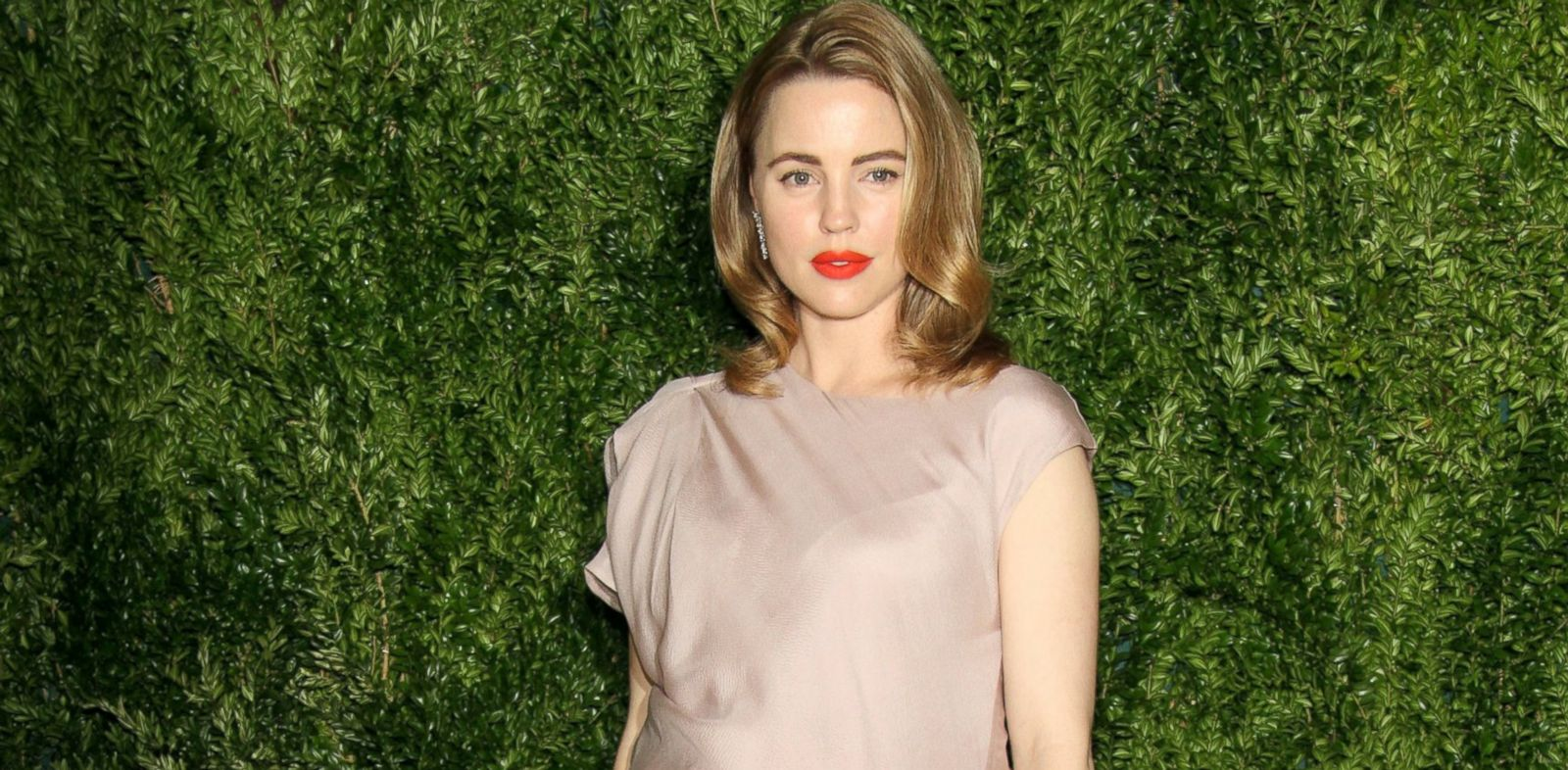 PHOTO: Actress Melissa George attends CFDA and Vogue 2013 Fashion Fund Finalists Celebration at Spring Studios, Nov. 11, 2013 in New York.