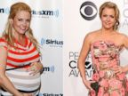 PHOTO:  Melissa Joan Hart, seen left at the SiriusXM Studio on May 30, 2012, and at right, at The 40th Annual Peoples Choice Awards at Nokia Theatre LA Live on January 8, 2014.