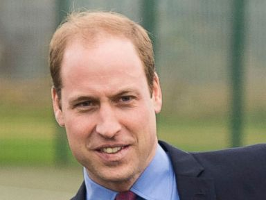 Prince Williams Plays Soccer in a Suit