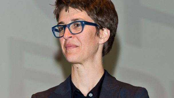 PHOTO: Political commentator and MSNBC host Rachel Maddow attends the 2013 Philadelphia Book Festival at Irvine Auditorium, April 14, 2013 in Philadelphia.