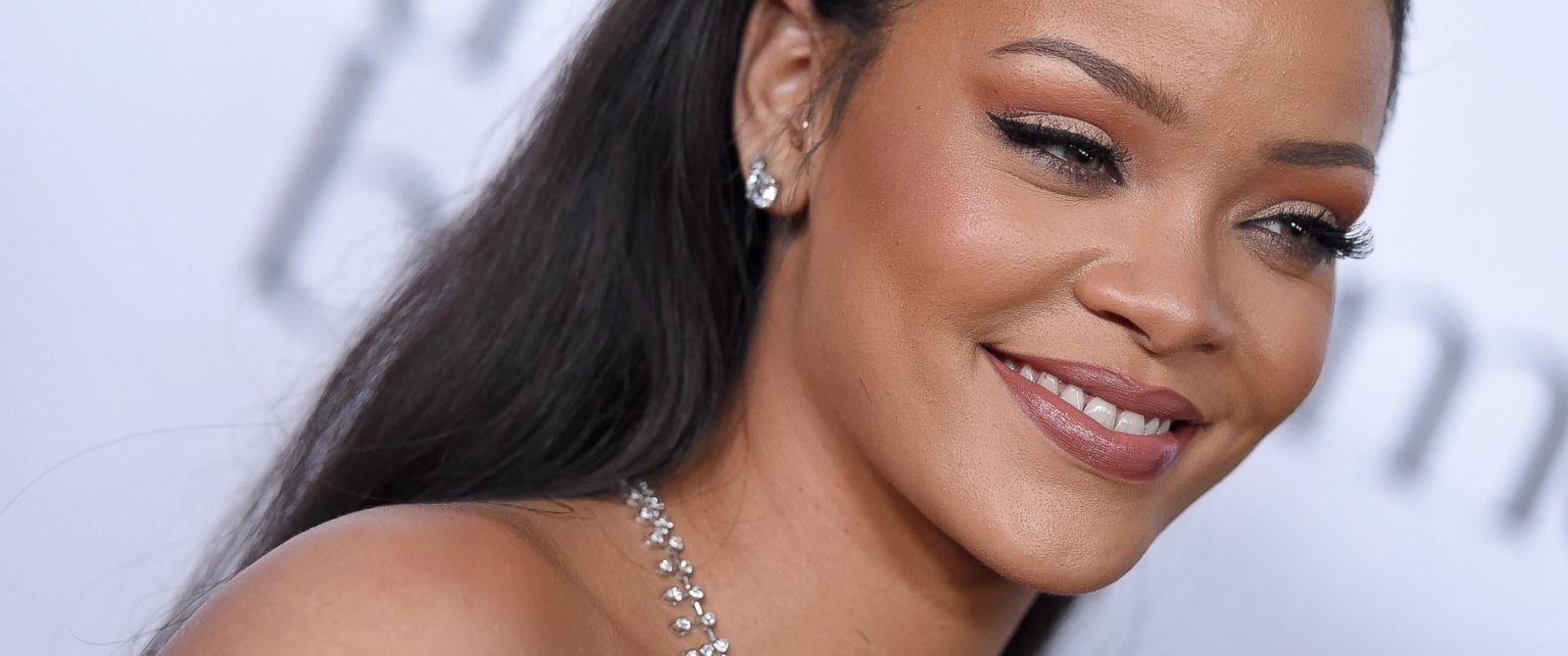 PHOTO: Recording artist Rihanna arrives at Rihanna and The Clara Lionel Foundation Host 2nd Annual Diamond Ball at The Barker Hanger, Dec. 10, 2015, in Santa Monica, Calif.
