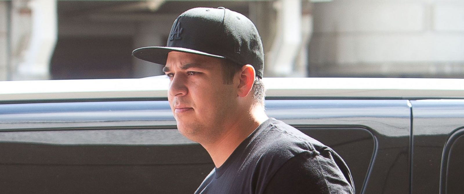 PHOTO: Rob Kardashian is seen on April 01, 2013 in Los Angeles, California.