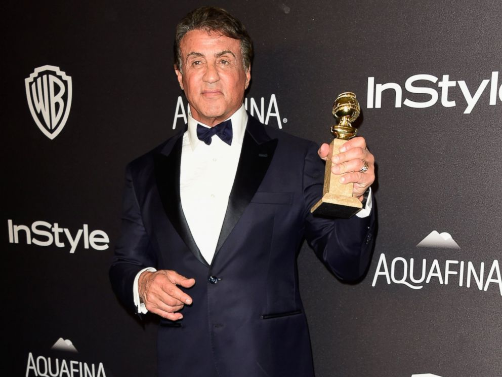 PHOTO: Sylvester Stallone attends 73rd Annual Golden Globe Awards Post-Party at The Beverly Hilton Hotel on Jan. 10, 2016 in Beverly Hills, Calif.