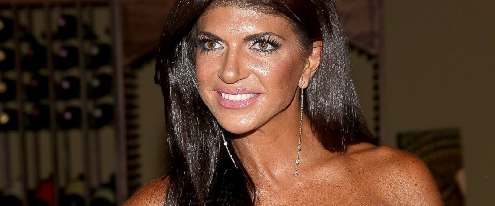"""PHOTO: Teresa Giudice attends the """"Real Housewives Of New Jersey"""" Season Six Premiere Party, July 13, 2014, in Parsippany, N.J."""