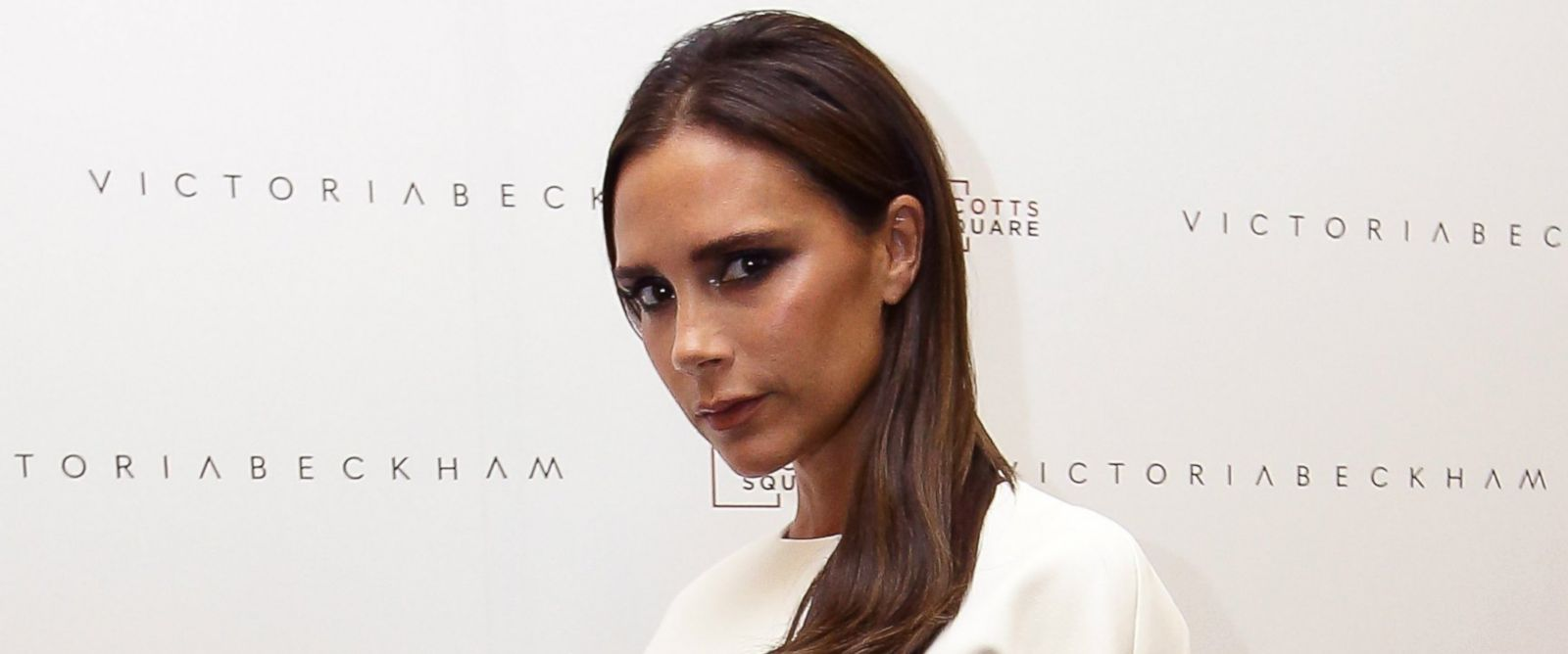 PHOTO: Victoria Beckham poses for a photo at On Pedder at Scotts Square on May 12, 2014 in Singapore.