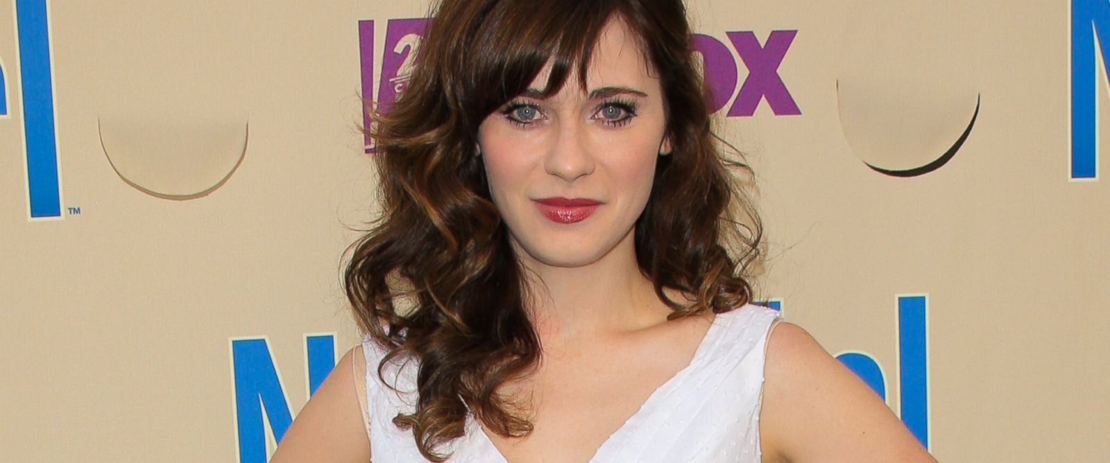 """PHOTO: Actress Zooey Deschanel attends the """"New Girl"""" season 3 screening and cast Q&A at Zanuck Theater at 20th Century Fox Lot on May 8, 2014 in Los Angeles, Calif."""