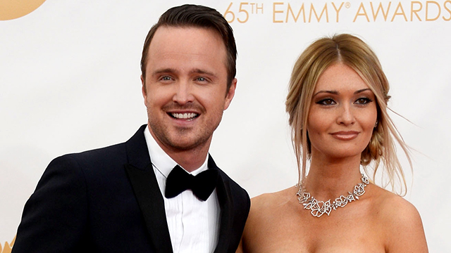 Aaron Paul Can't Stop Gushing About His Wife, Lauren ... Aaron Paul Wife