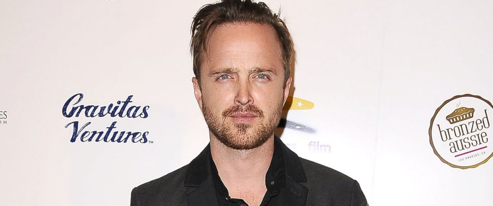 """PHOTO: Aaron Paul attends the premiere of """"Felony"""" at Harmony Gold Theatre, Oct. 16, 2014, in Los Angeles."""