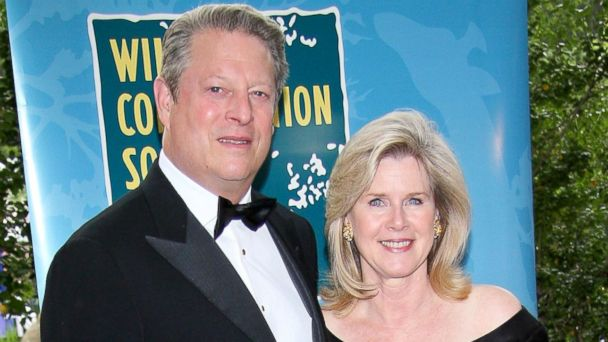 "PHOTO: Al Gore and Tipper Gore attend The Wildlife Conservation Societys ""Safari! India"" at The Central Park Zoo, June 3, 2008, in New York."