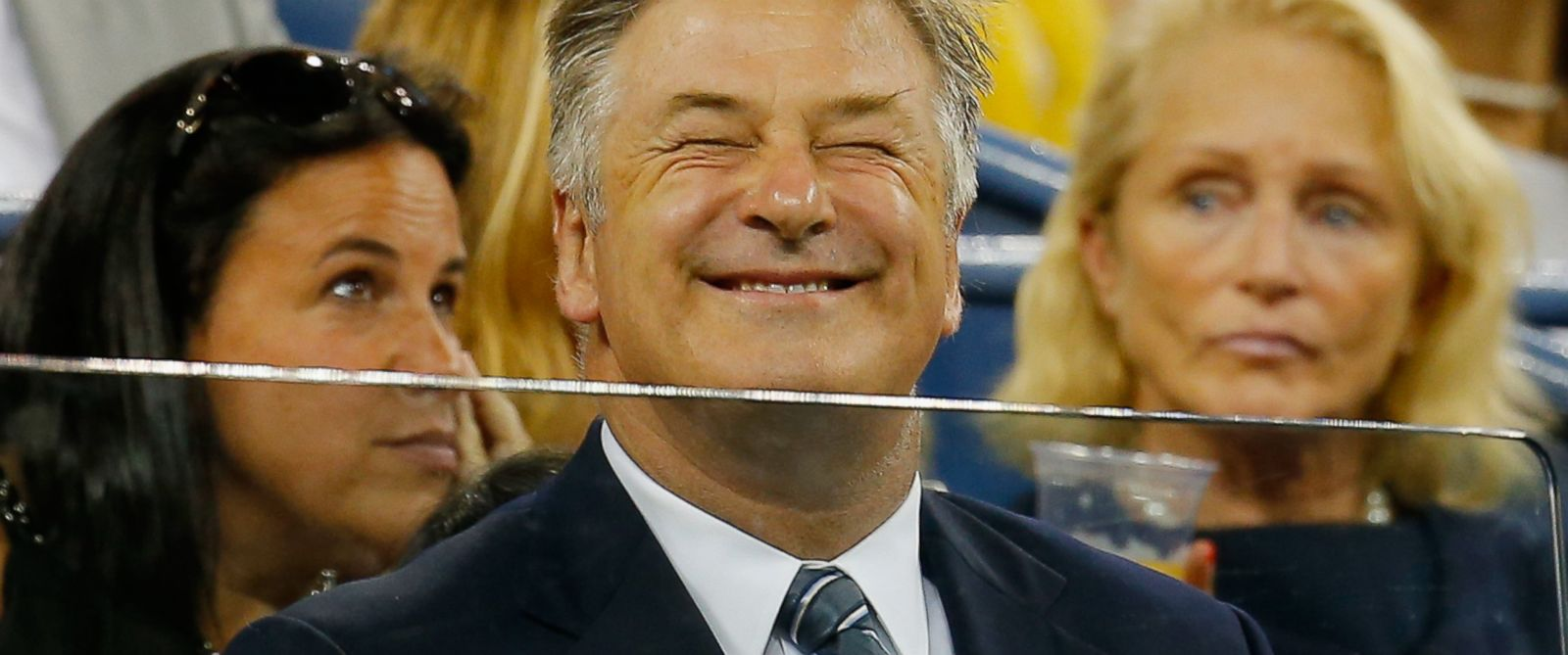 PHOTO: Alec Baldwin attends Day One of the 2014 US Open at the USTA Billie Jean King National Tennis Center in New York, Aug. 25, 2014.