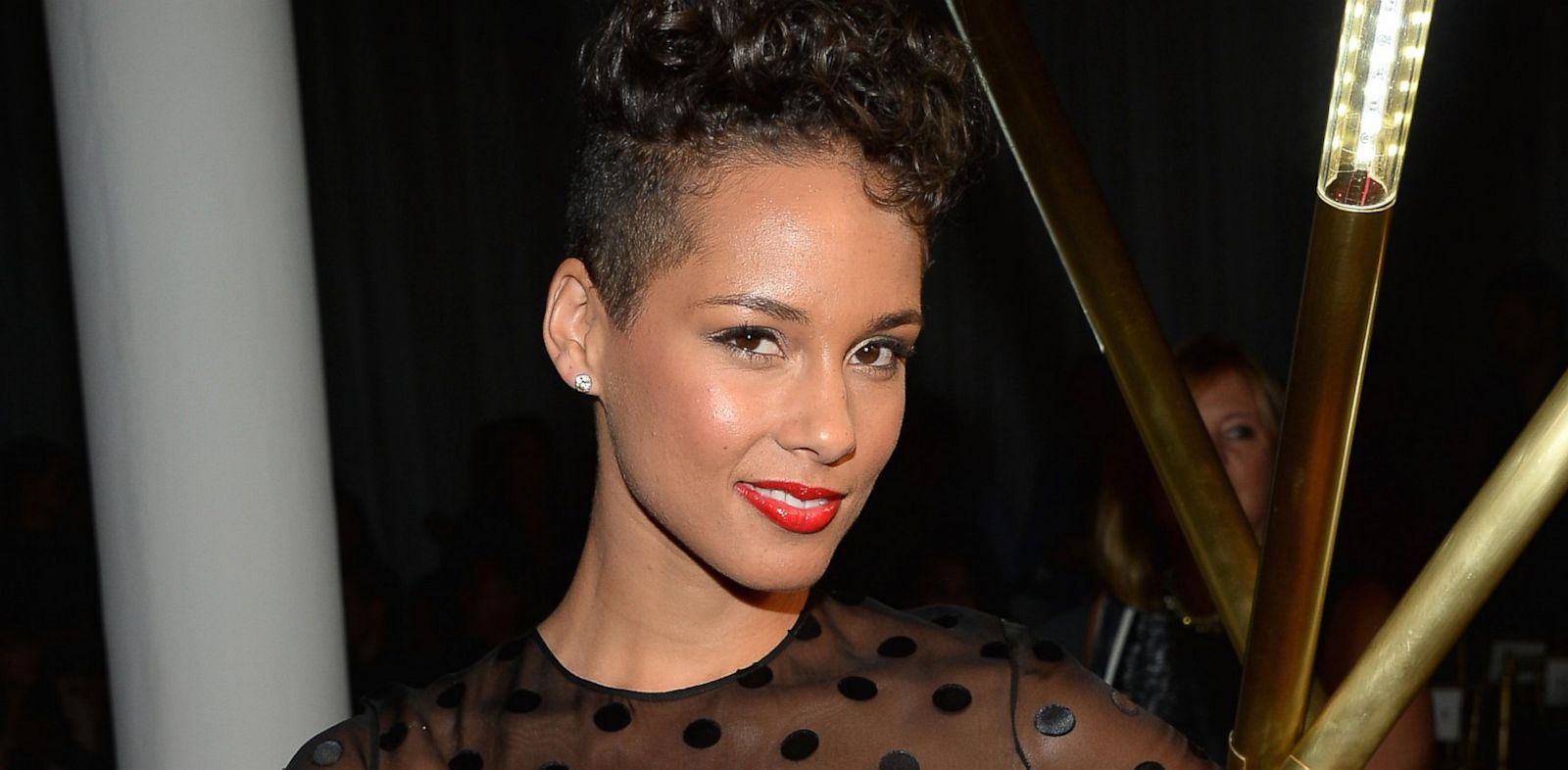 PHOTO: Alicia Keys attends the Jason Wu Spring 2014 fashion show, Sept. 6, 2013, in New York City.