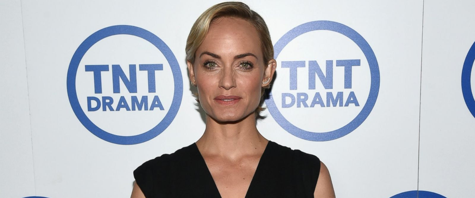 """PHOTO: Actress Amber Valletta attends the """"Legends"""" portion of the 2014 TCA Turner Broadcasting Summer Press Tour Presentation at The Beverly Hilton, July 10, 2014, in Los Angeles."""