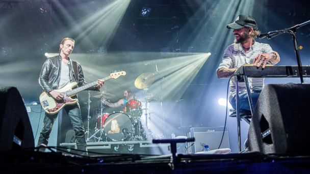 PHOTO: Band of Horses perform on the first day of the Lowlands festival in Biddinghuizen, the Netherlands, Aug. 16, 2013.