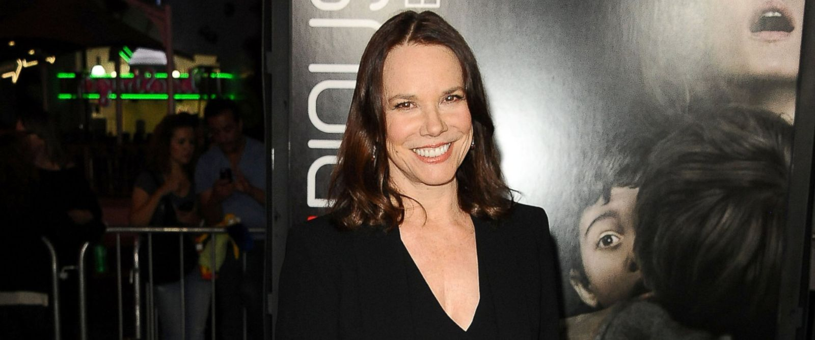 "PHOTO: Actress Barbara Hershey attends the premiere ""Insidious: Chapter 2"" at Universal CityWalk, Sept. 10, 2013 in Universal City, Calif."