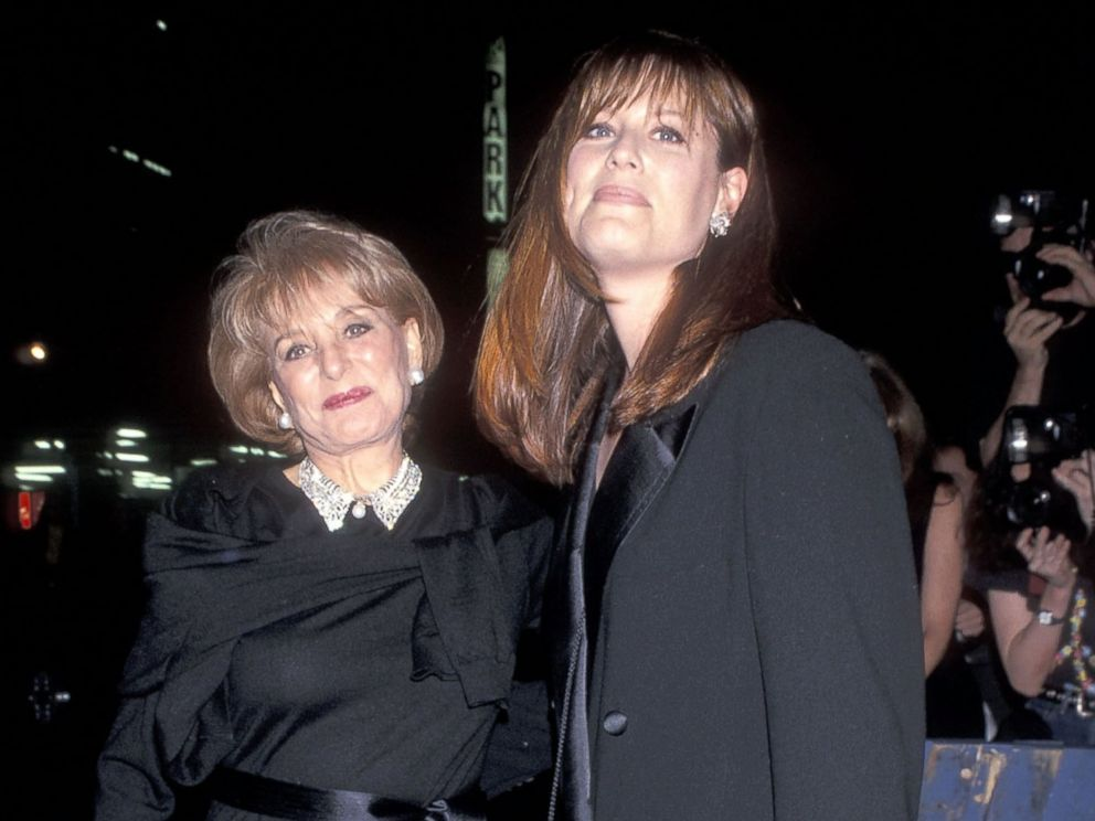 PHOTO: Barbara Walters and daughter Jacqueline Guber attend Michael Douglas 55th Birthday and Catherine Zeta-Jones 30th Birthday Party, Sept. 25, 1999 at Club 151 in New York City.