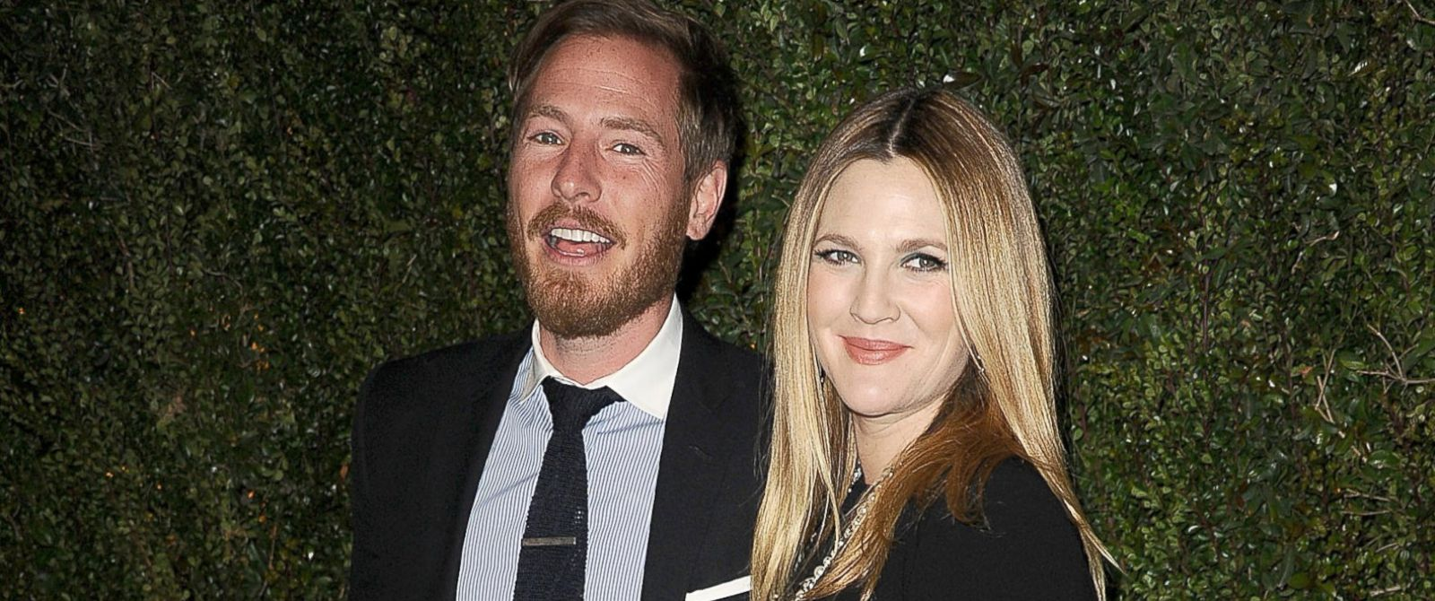 """PHOTO: Drew Barrymore and husband Will Kopelman attend the release of """"Find It In Everything"""" at Chanel Boutique, Jan. 14, 2014, in Beverly Hills, Calif."""