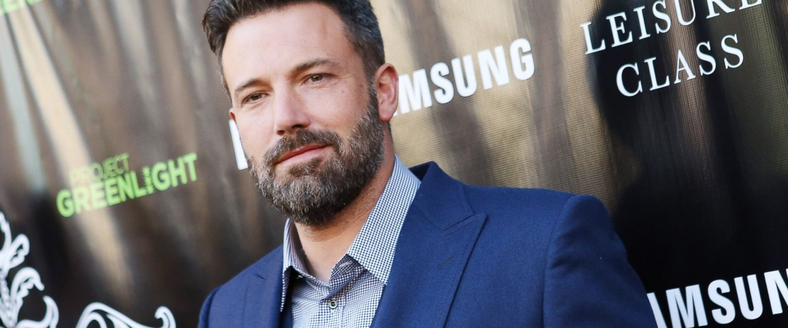 """PHOTO:Ben Affleck arrives at The Project Greenlight season 4 winning film """"The Leisure Class,"""" Aug. 10, 2015 in Los Angeles."""