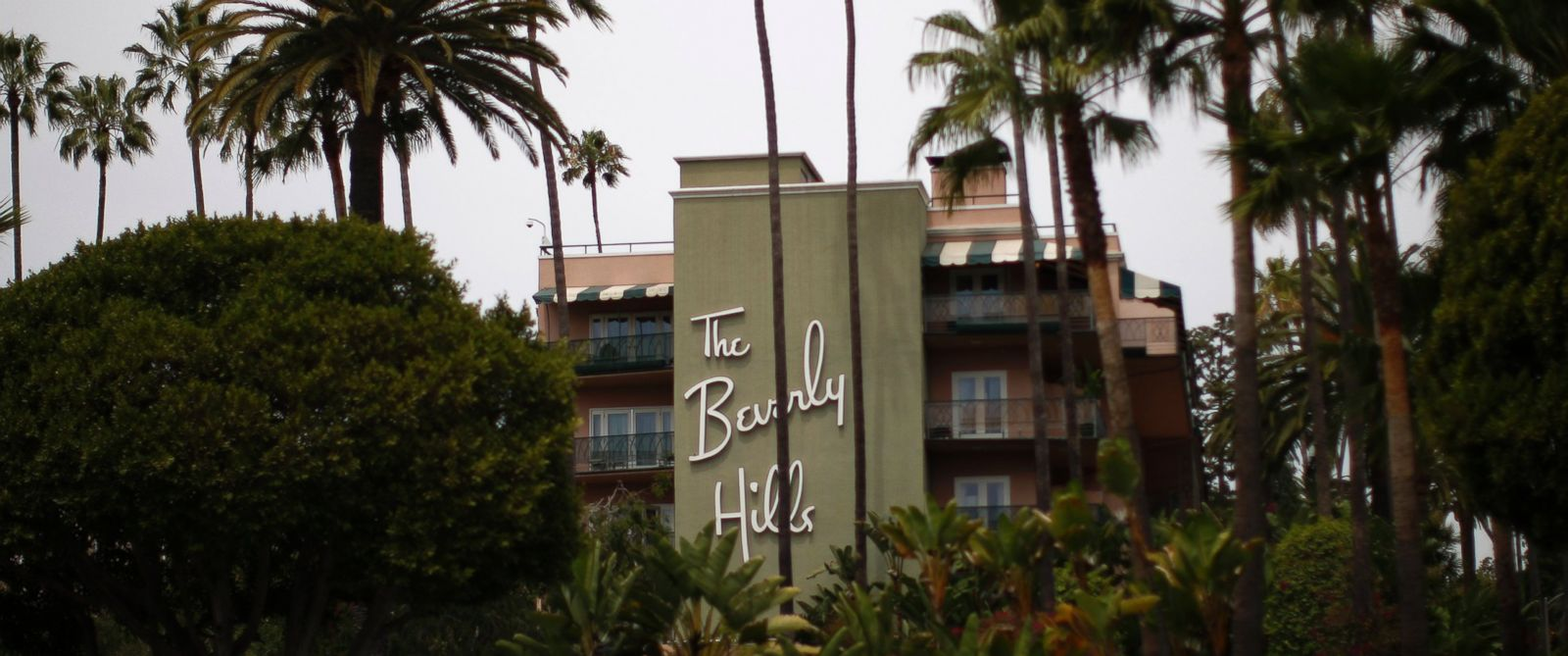 PHOTO: The Beverly Hills Hotel in Beverly Hills, Calif., seen on May 5, 2014, is operated by Dorchester Collection Properties, a group owned by Bruneis government.