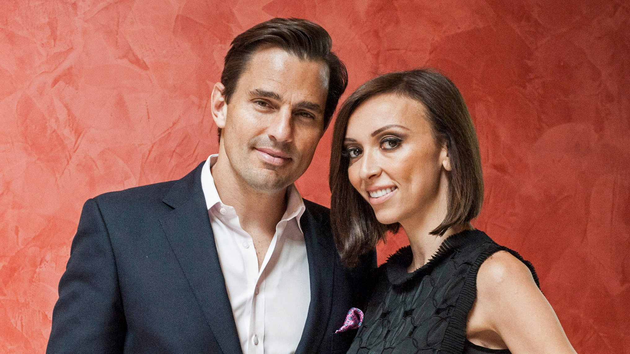 PHOTO:Bill Rancic and Giuliana Rancic pose for a portrait at the 2013 Columbus Day luncheon at the Embassy of Italy on Oct. 14, 2013 in Washington.