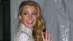 Blake Lively Gives a Wave in New York City