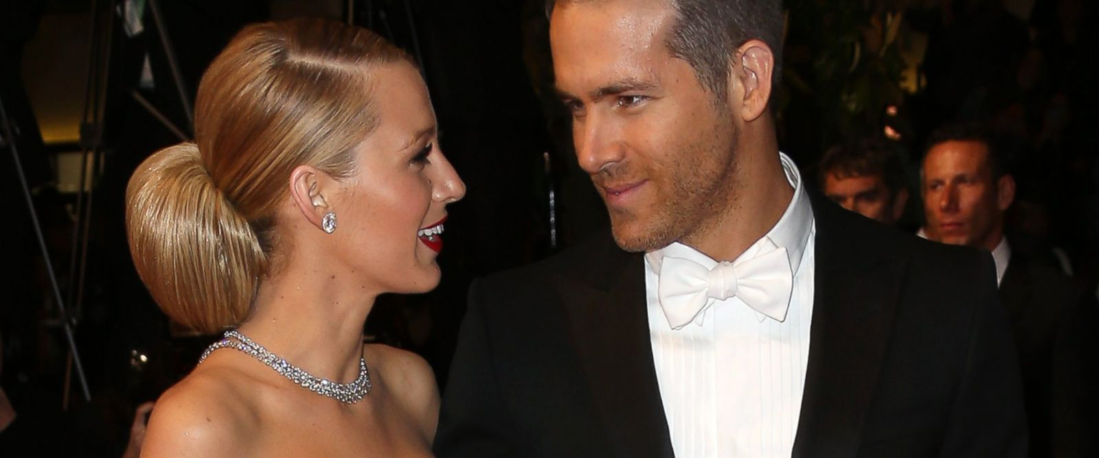 PHOTO: Blake Lively and Ryan Reynolds attend The Captive premiere during the 67th Annual Cannes Film Festival, May 16, 2014, in Cannes, France.