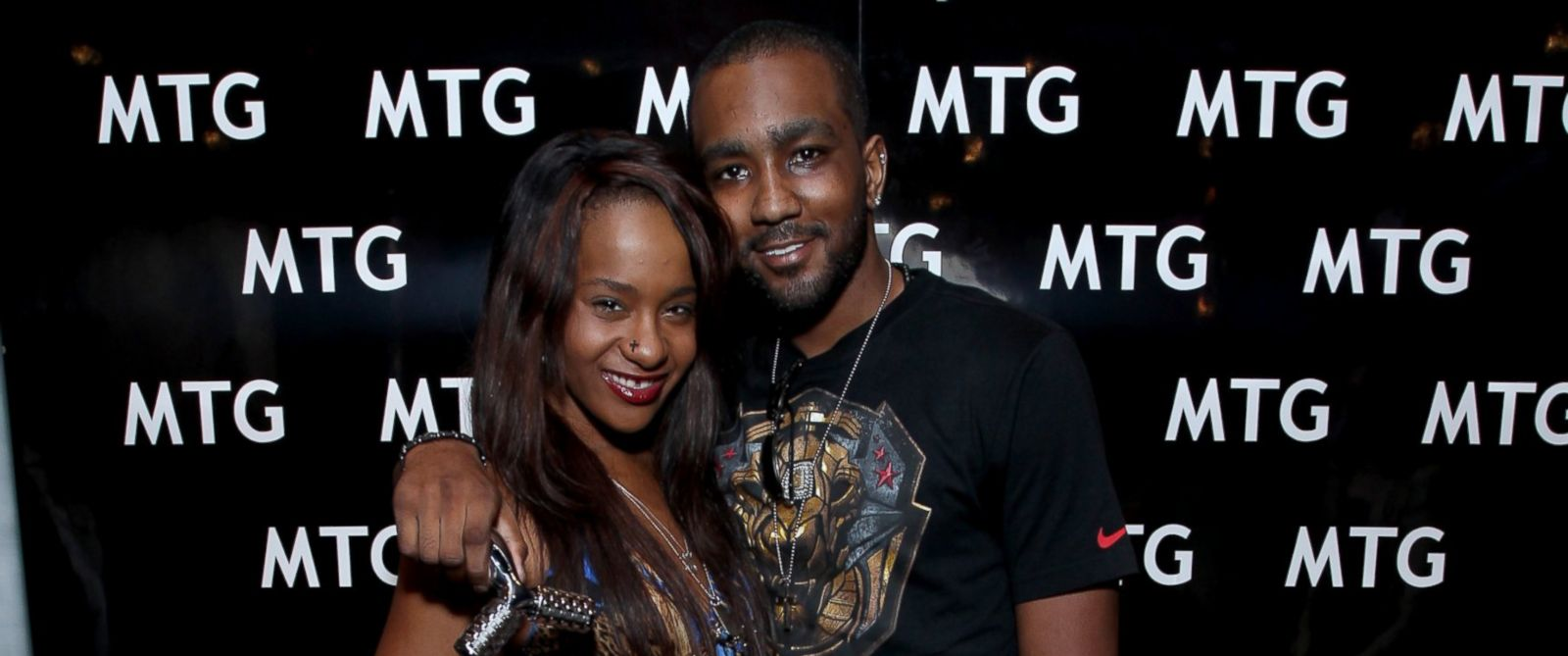 PHOTO: Bobbi Kristina Brown and Nick Gordon attend the GRAMMY Gift Lounge during the 56th Grammy Awards at Staples Center in Los Angeles, Calif., Jan. 25, 2014.