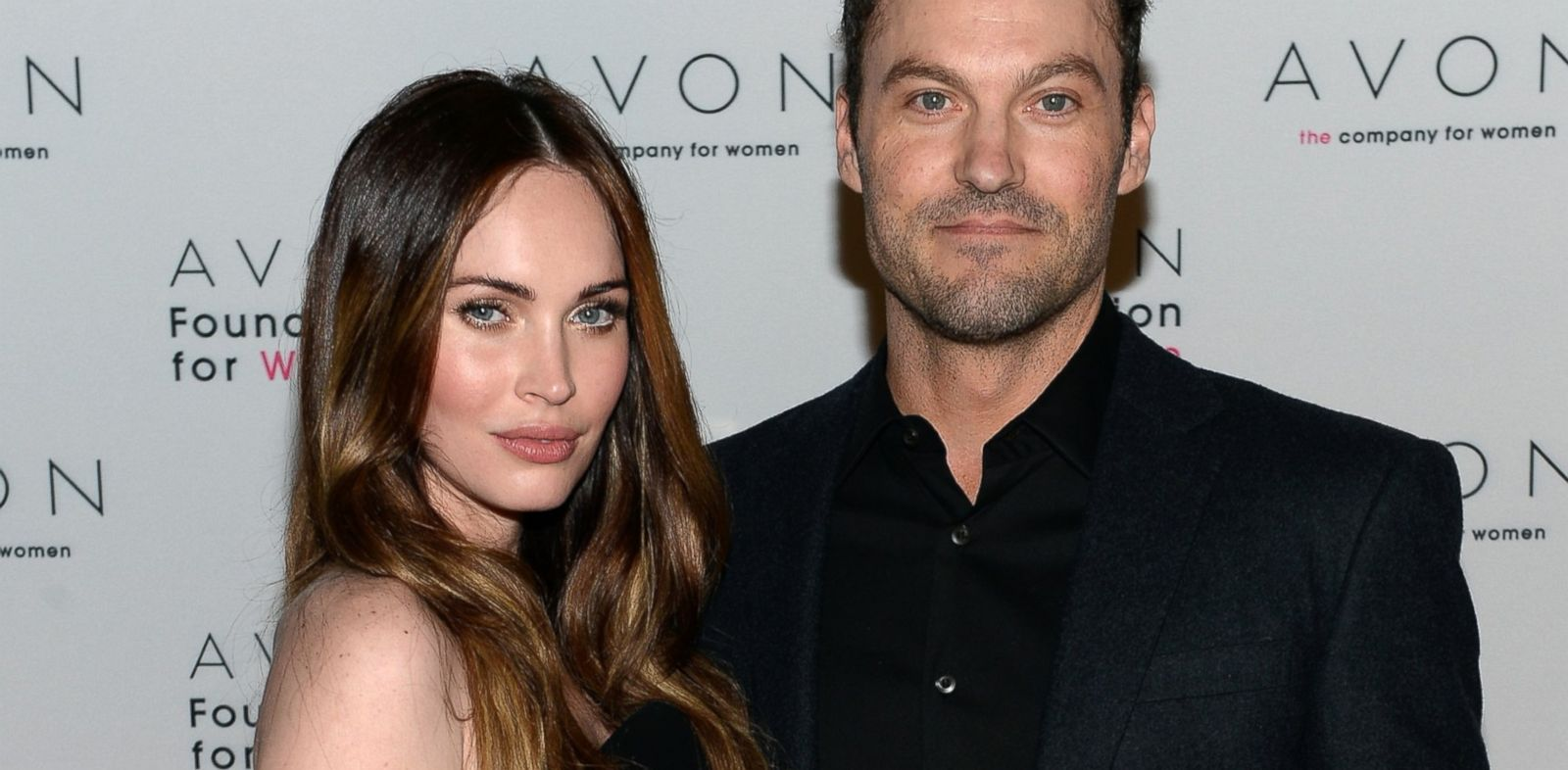 PHOTO: Megan Fox and Brian Austin Green at The Morgan Library & Museum in New York at the Avon Foundation launch of its #SeeTheSigns of Domestic Violence global social media campaign.