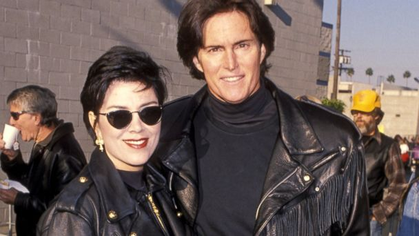 "PHOTO: Kris Kardashian and Bruce Jenner during ""Love Ride 11"" To Benefit Muscular Dystrophy Charities at Harley Davidson of Glendale in Glendale, Calif., Nov. 13, 1994."
