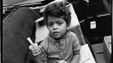 PHOTO: Bruno Mars is shown here as a four year old Elvis impersonator, August 1990, in Memphis, Tenn.