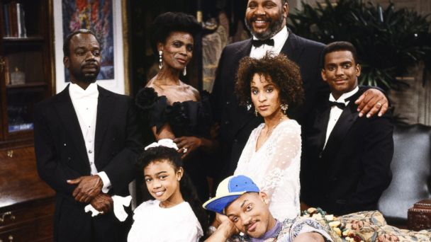 "PHOTO The cast of ""The Fresh Prince Of Bel-Air"""
