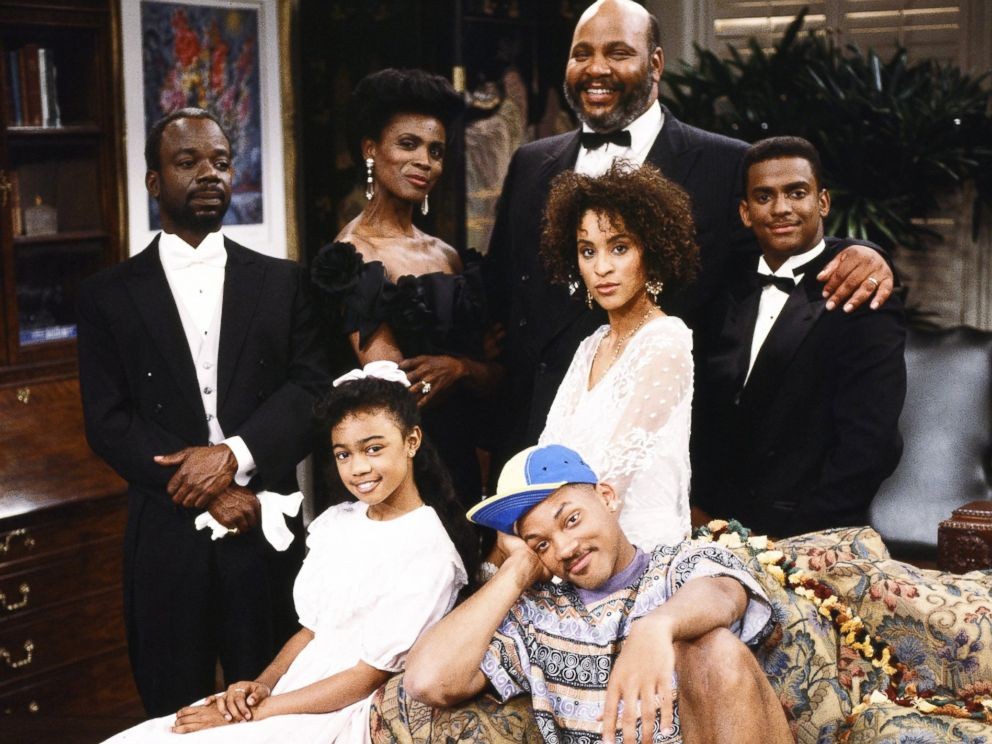 PHOTO The cast of The Fresh Prince Of Bel-Air