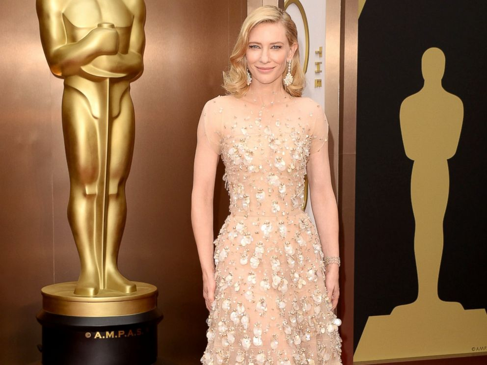PHOTO: Cate Blanchett attends the Oscars held at Hollywood & Highland Center in Hollywood, Calif., March 02, 2014.