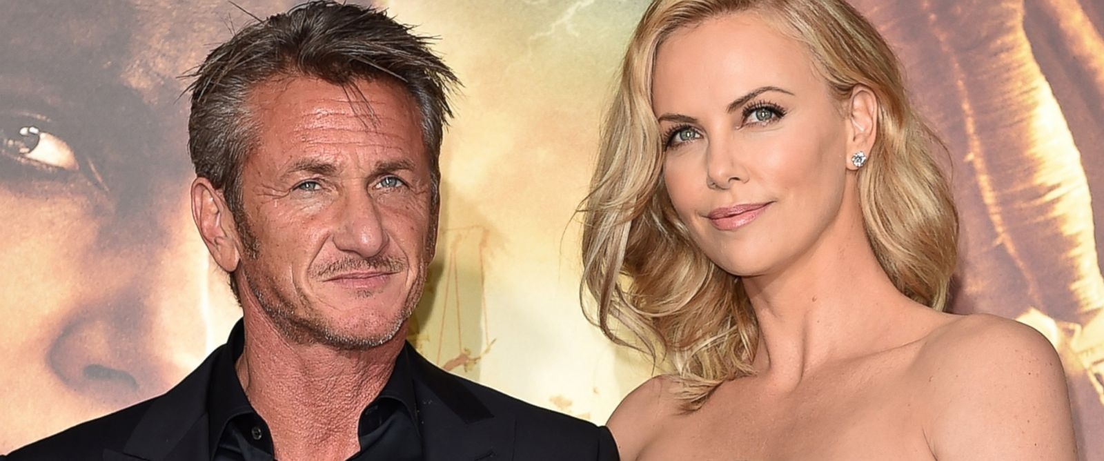 """PHOTO:Sean Penn and Charlize Theron attend the premiere of Warner Bros. Pictures """"Mad Max: Fury Road"""" in Hollywood, Calif., May 7, 2015."""